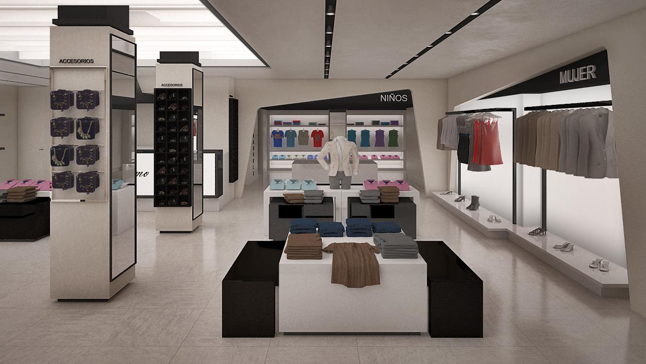 dise o de tienda de ropa en madrid grupo ias On diseno de interiores para locales de ropa
