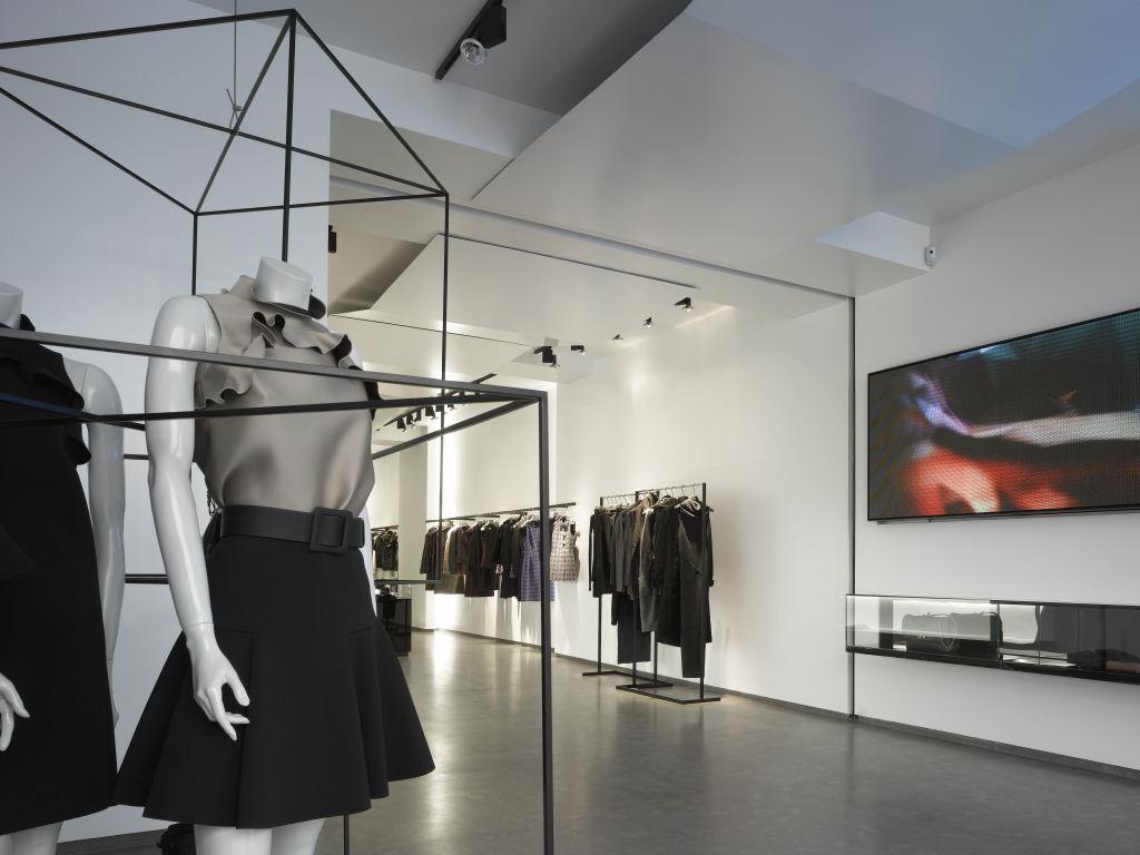 interiorismo tienda ropa