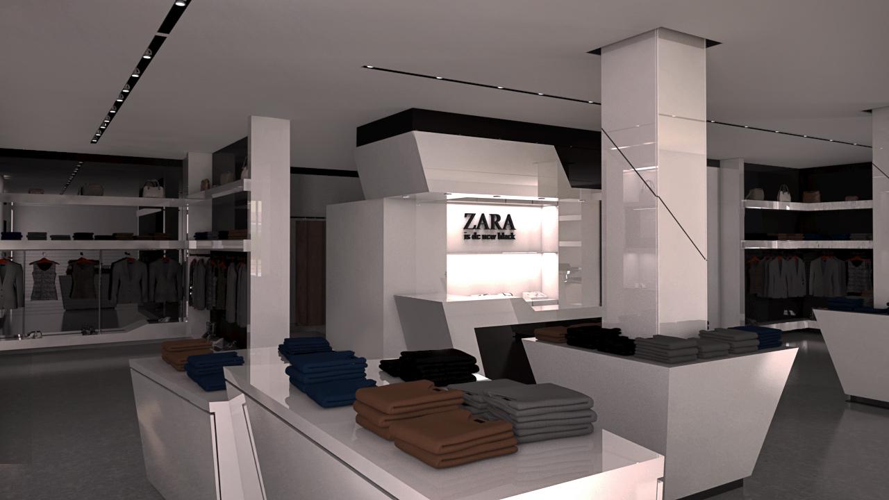 Diseño tienda ropa GrupoIAS