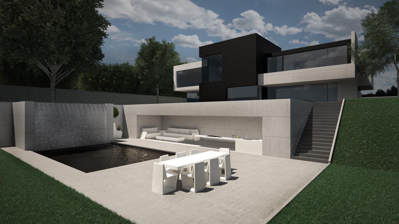 Dise o de vivienda unifamiliar en las rozas de madrid grupo ias - Diseno de viviendas ...