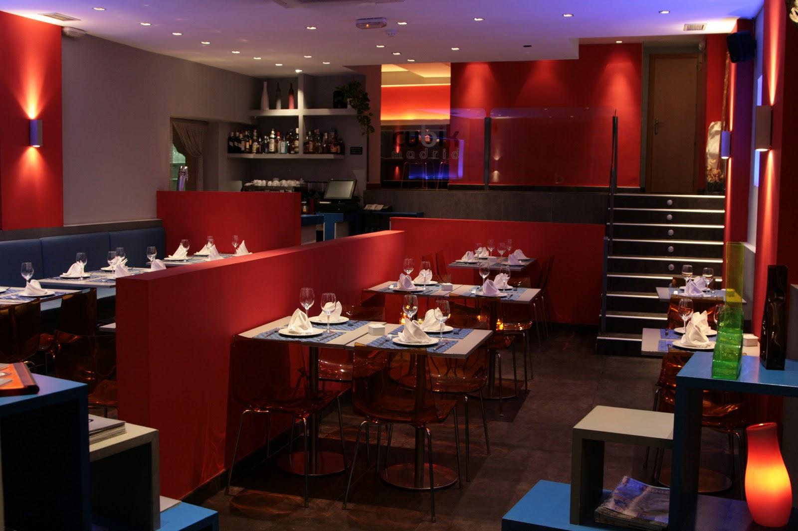 El color dice mucho de tu negocio for Diseno cocina restaurante pequeno