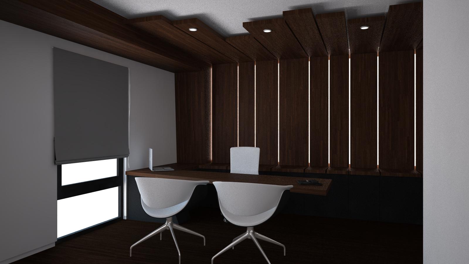Dise o de oficinas en madrid grupoias - Iluminacion falso techo ...