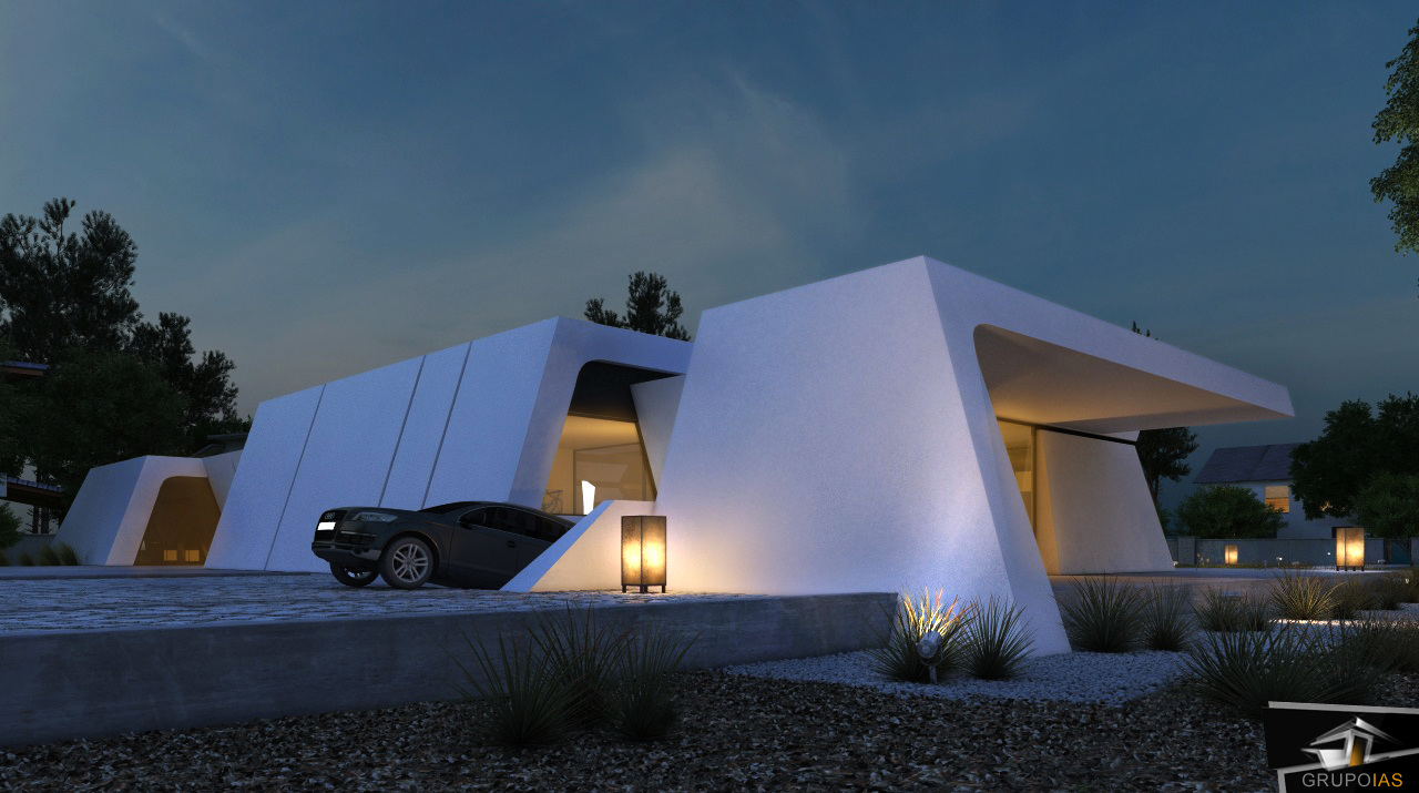 Arquitectura de dise o en viviendas unifamiliares grupo ias - Viviendas unifamiliares modernas ...
