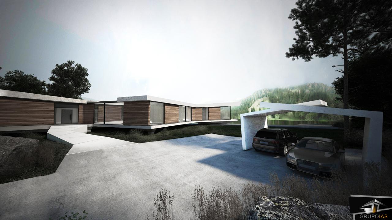 Arquitectura de vivienda diseño lujo madrid
