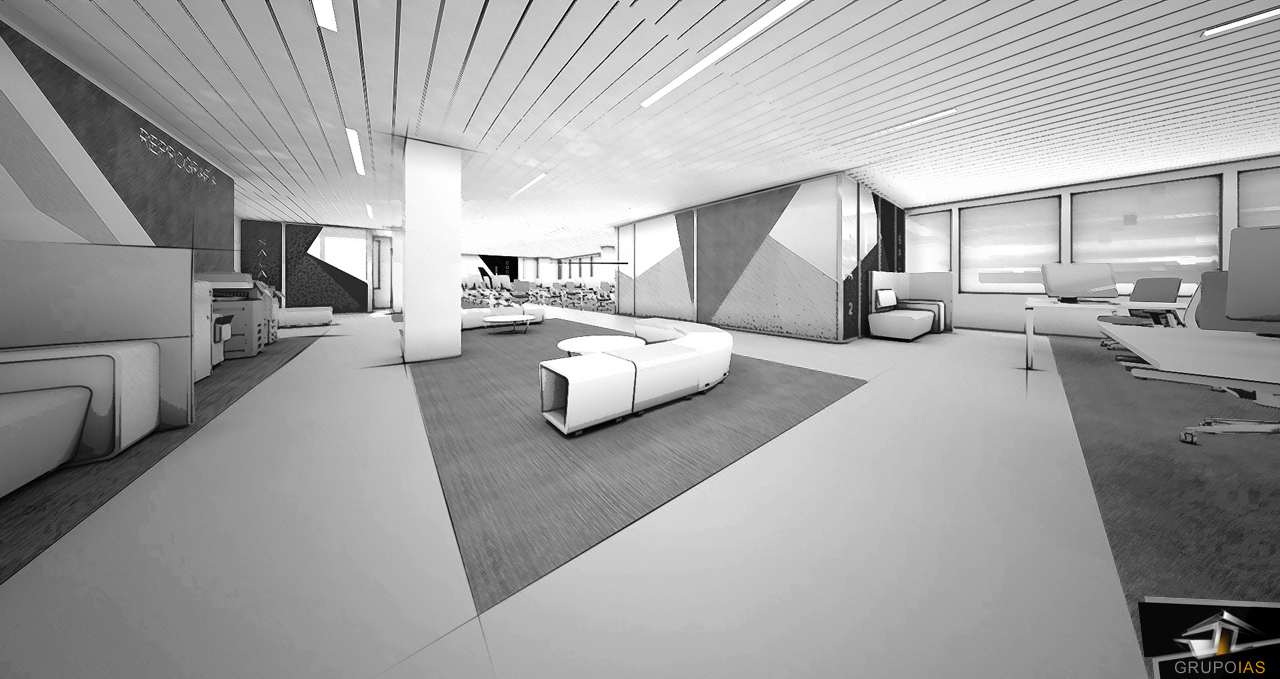 Proyecto de oficinas ocu madrid grupo ias for Oficinas de allianz en madrid