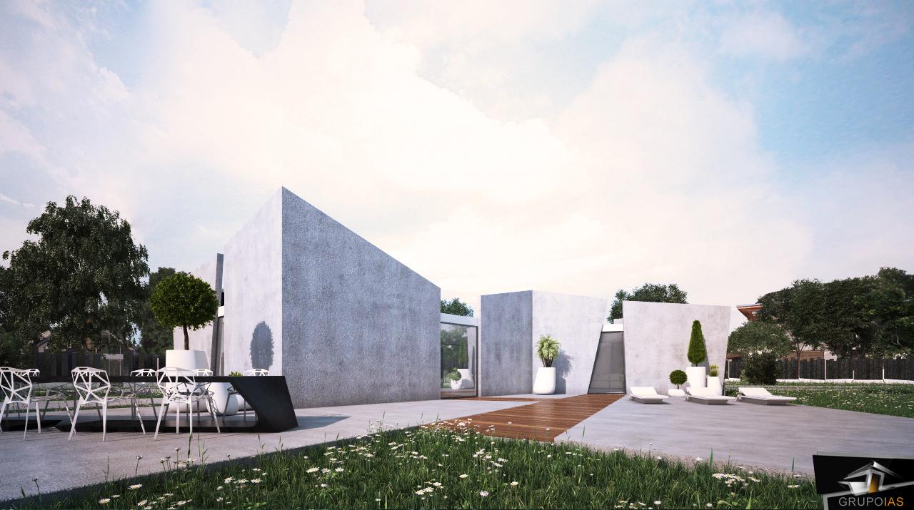 Construcción Vivienda diseño moderno