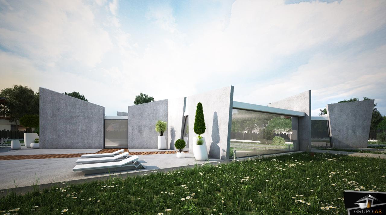 Construcción vivienda diseño unifamiliar madrid