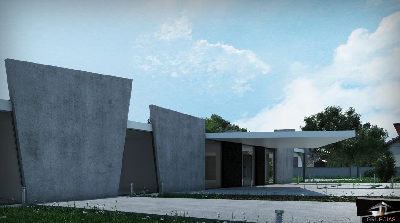 Construcción vivienda unifamiliar diseño en madrid