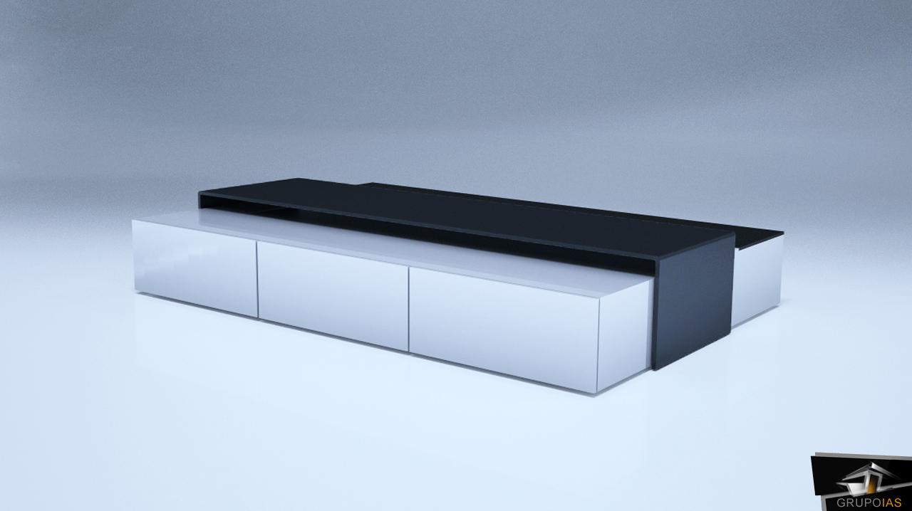 Diseño de mesa centro por GrupoIAS