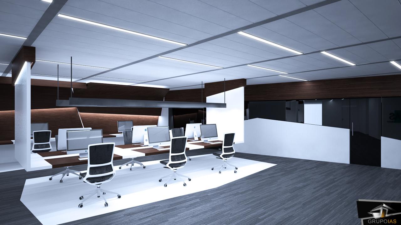 Selecci n de oficinas dise adas por grupoias grupo ias for Espacios de oficina