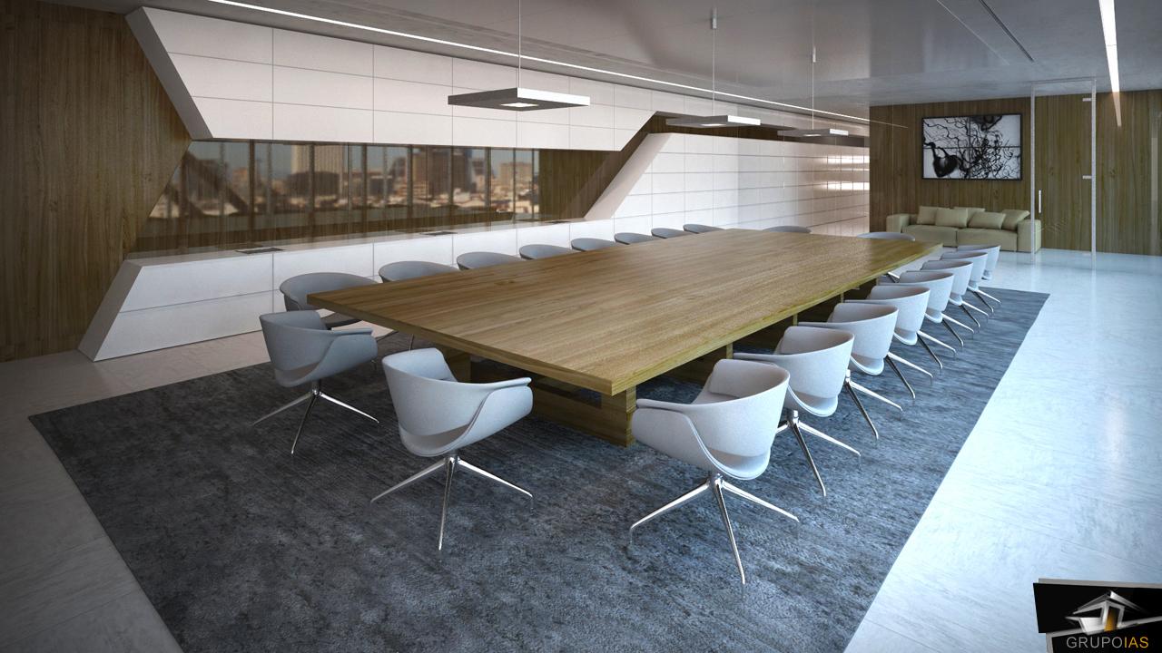 Selecci n de oficinas dise adas por grupoias grupo ias for Sala de reuniones