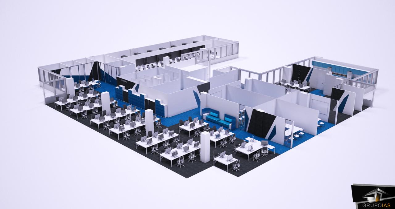 Proyecto de oficinas ocu madrid grupo ias for Oficinas de openbank en madrid