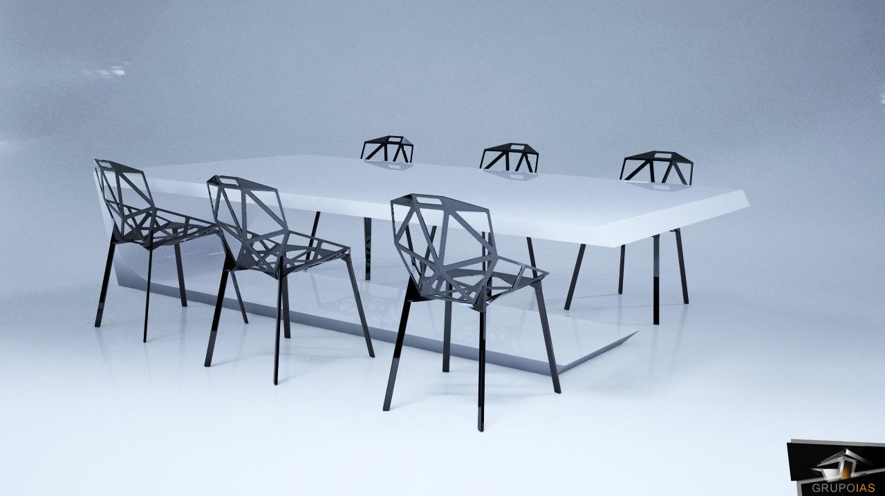 Diseño mesa realizada por grupoias v10