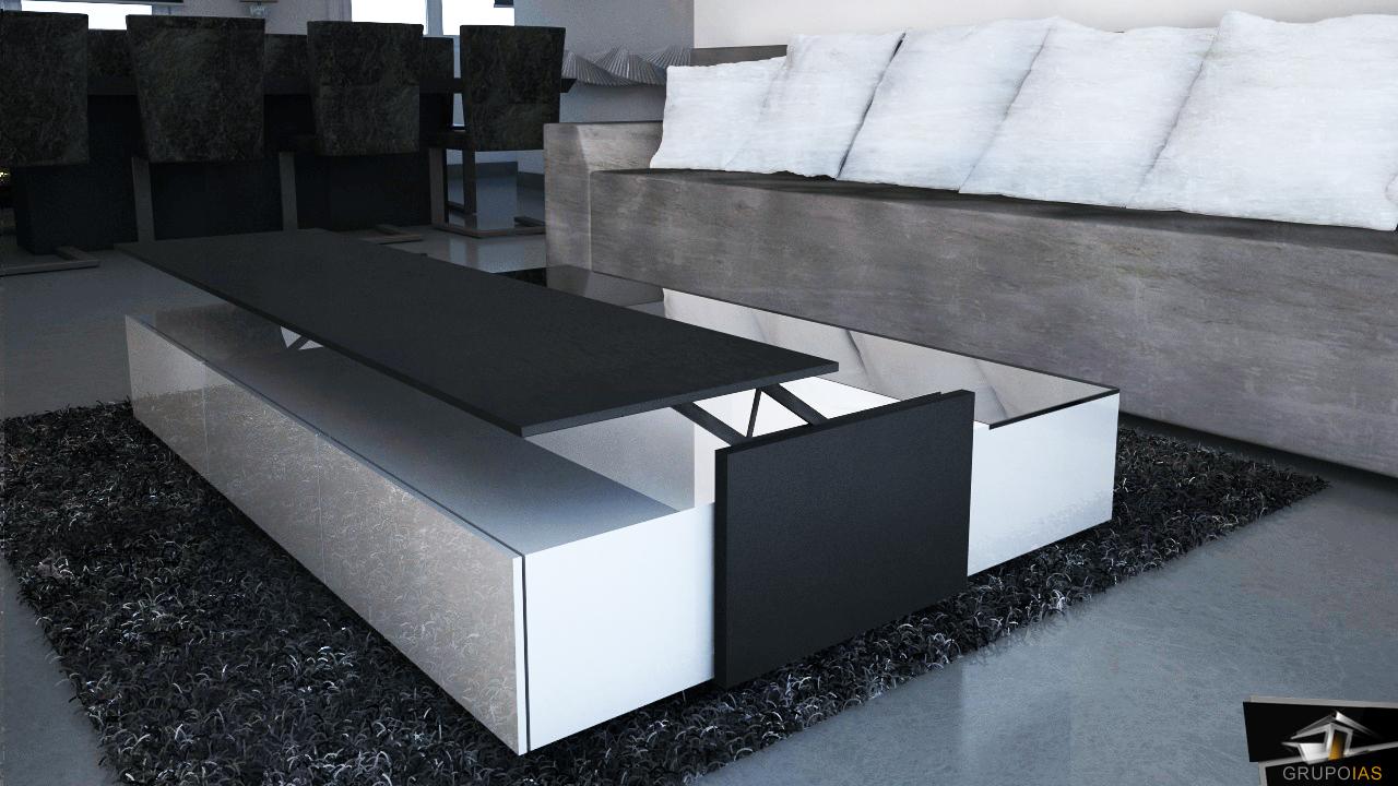 diseño final de mesa lacada GrupoIAS