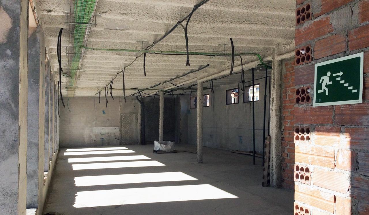 Rehabilitación instalaciones edificio grupoias